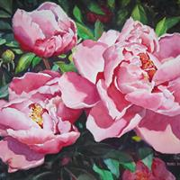 "Pimei Huang, ""Peony,"" 2015"