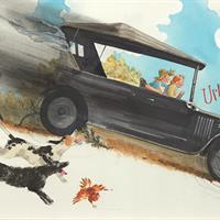 """Ted Rand, """"Mama and Me and the Model T,"""" 1999"""