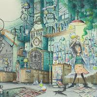 "Korky Paul, ""Puffendorf's Laboratory- Final,"" 1992"