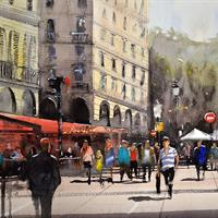 """Cody Heichel, """"Paris Brasserie,"""" 2015"""