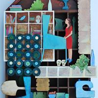 "Helma Groot, ""Pinball in the Living Room,"" 2013"