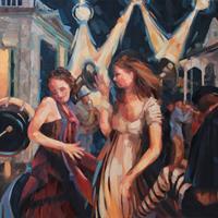 "Linda Langhorst, ""Frenzy on Frenchman Street (NOLA),"" 2012"