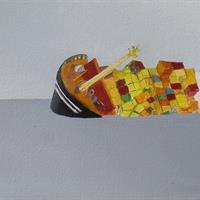 "Agnes Burris, ''Sorrows of Laboring Ships 1,"" 2012"