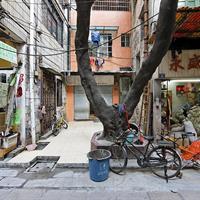 "Fredrik Marsh, ''Alley Shops, Wholesale Shopping District, Guangzhou, People's Republic of China,"" 2010"