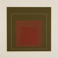 "Josef Albers, ""White Line Squares IV, 1966"