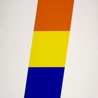 "Ellsworth Kelly, ""Red Orange/ Yellow/ Blue,"" 1970"