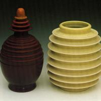 baggs, bottle with stopper and vase.jpg