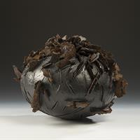 "Susan R. Ewing, ""Momento Mori Series: Form with Fungus (Blackening Polypore),"" 2017"