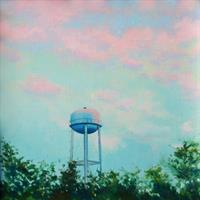 """Ed Charney, """"Pink Tower,"""" 2016"""