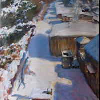 "Nora Daniel, ""Snow Job,"" 2015"