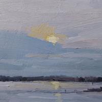 "Edie Dean, ""Alum Creek Winter,"" 2014"