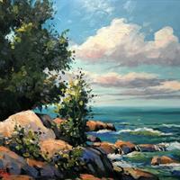 "Larry S. Golba, ""Marblehead Coast, Lakepoint,"" 2007"