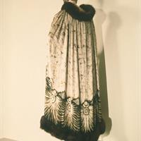 Chanel, 1920s, Silk, batik, Fur