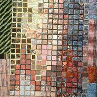 "Marge Hurst, Tribute to John Wesley Powell, cotton, blended fabrics, 78"" x 49"""