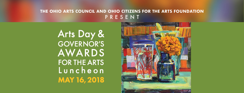 The Ohio Arts Council and Ohio Citizens for the Arts Foundation present Arts Day & Governor's Awards for the Arts luncheon. May 16, 2018.