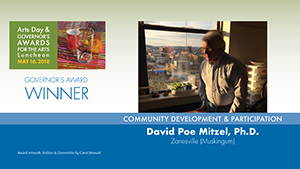 Governor's Awards 2018: Dr. David Poe Mitzel, Community Development & Participation Award Winner
