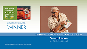 Governor's Awards 2018: Sierra Leone, Community Development & Participation Award Winner