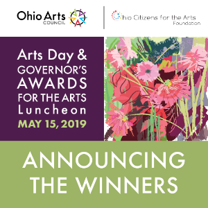 2019 Governor's Awards for the Arts Winners Announced