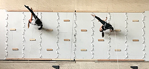'Leaping off the Wall' with MorrisonDance at IngenuityFest