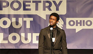 2020 Ohio Poetry Out Loud State Champion Austin Smith