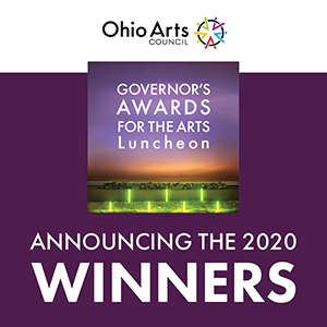 Announcing the 2020 Governor's Awards for the Arts in Ohio winners