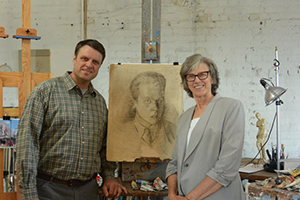 Continuing the Legacy: Ohio Artists Strengthen the Bond of Mother and Son Through Painting