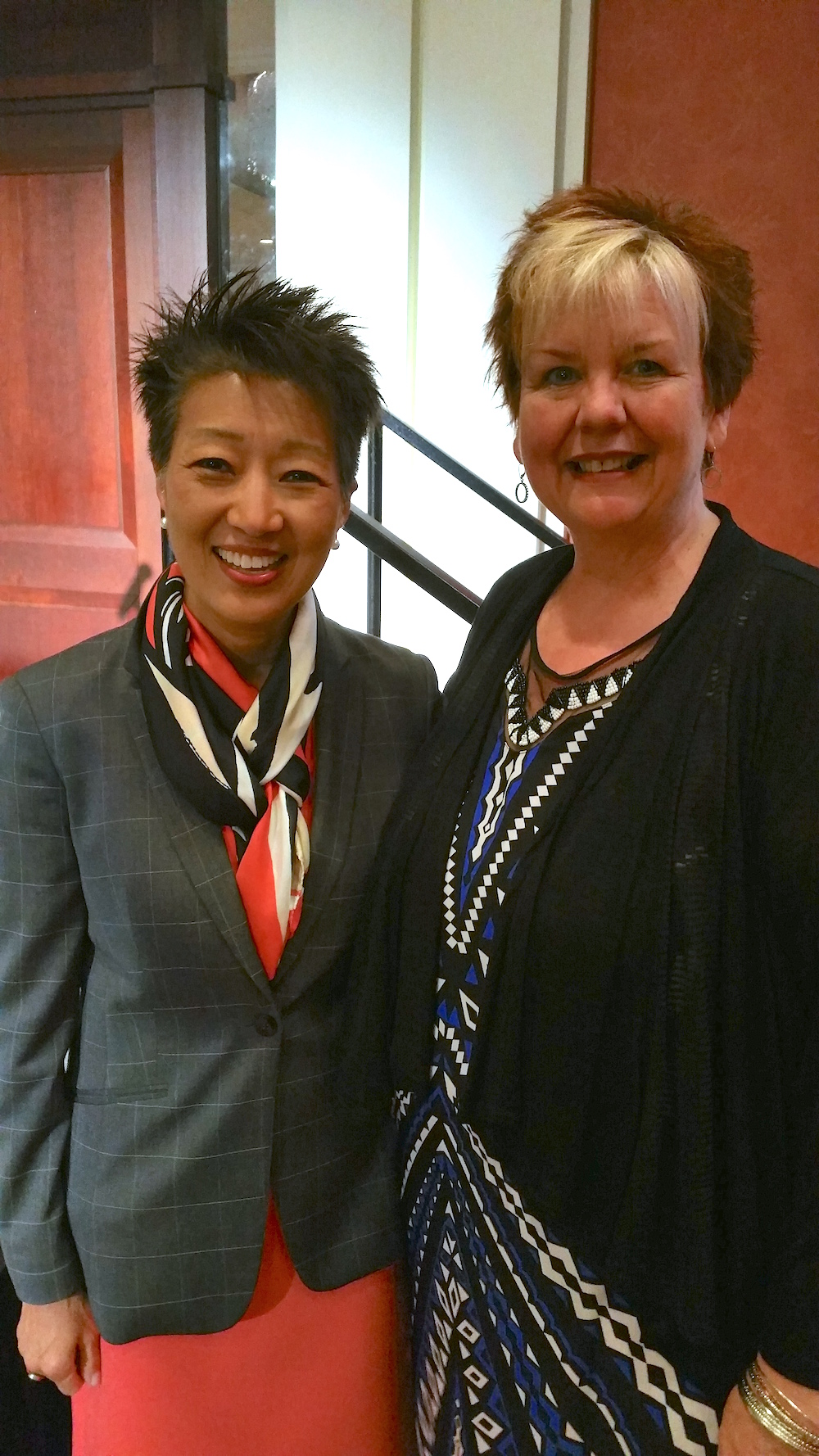 donna collins with jane chu
