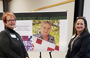 Ohio Arts Council Honored with Scenic Ohio Award for Quilt Barn Project