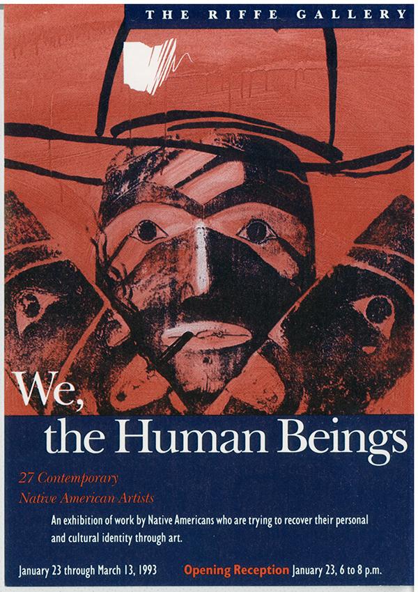 We, Human Beings postcard
