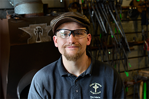 Pursuing a Passion: Blacksmith Roy Adams Receives an Ohio Arts Council Heritage Fellowship Award for Material Culture