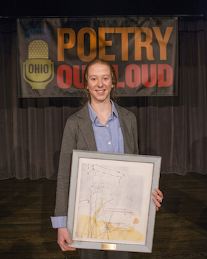 Columbus Student Wins 2017 Ohio Poetry Out Loud State Finals