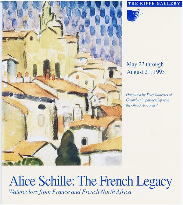 Alice Schille postcard