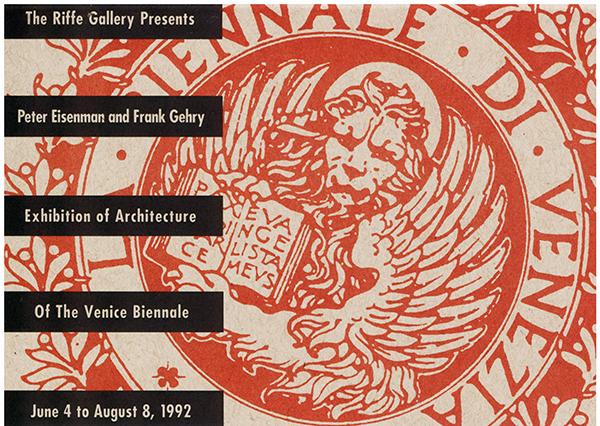 Eisenman Gehry Poster